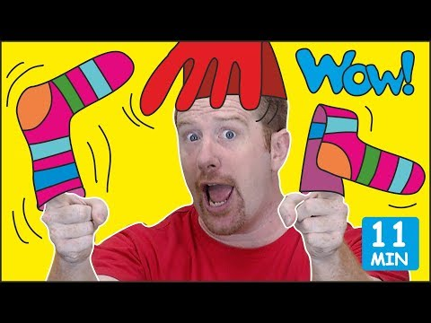 Fashion Show For Kids From Steve And Maggie + MORE Stories For Kids | Free Speaking Wow English TV
