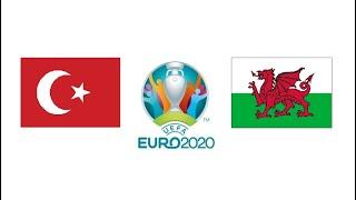 Турция Уэльс 0 2 обзор матча голы ЕВРО 16 06 2021 футбол смотреть онлайн прямой эфир прогноз матча