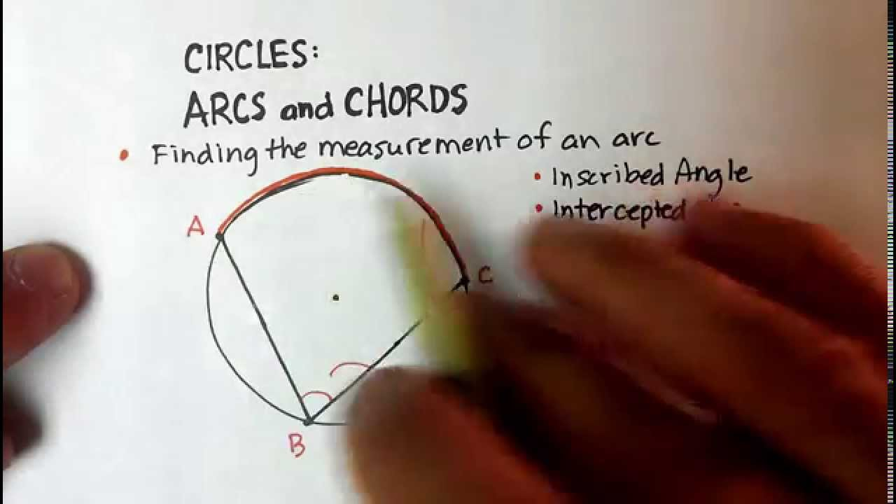 Circles inscribed angles intercepted arc definition youtube circles inscribed angles intercepted arc definition hexwebz Gallery