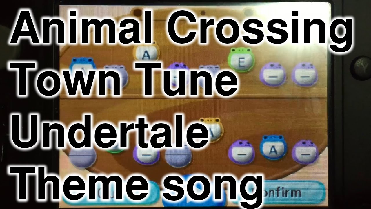 Animal Crossing New Leaf Home Theme