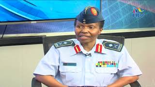 Exclusive interview with the first ever woman major general of Kenya Defence Forces