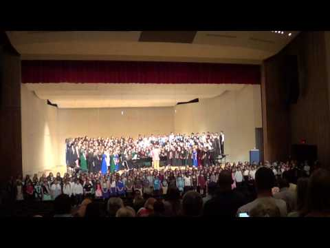 All Region Choir 2016 Finale - United We Stand