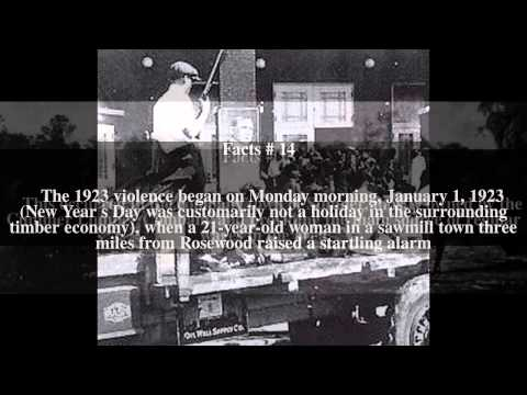 Rosewood massacre Top # 67 Facts