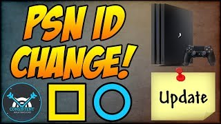 PSN Name Change: HOW TO UPDATE YOUR PSN NAME ID ON PS4! (Beta, Price + More! - Playstation 4 Update)