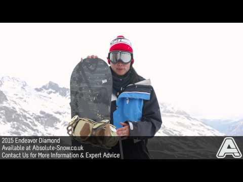 2014 / 2015 | Endeavor Diamond Snowboard | Video Review