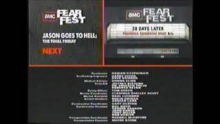 Deep Blue Sea (1999) End Credits (AMC Fearfest 2010)