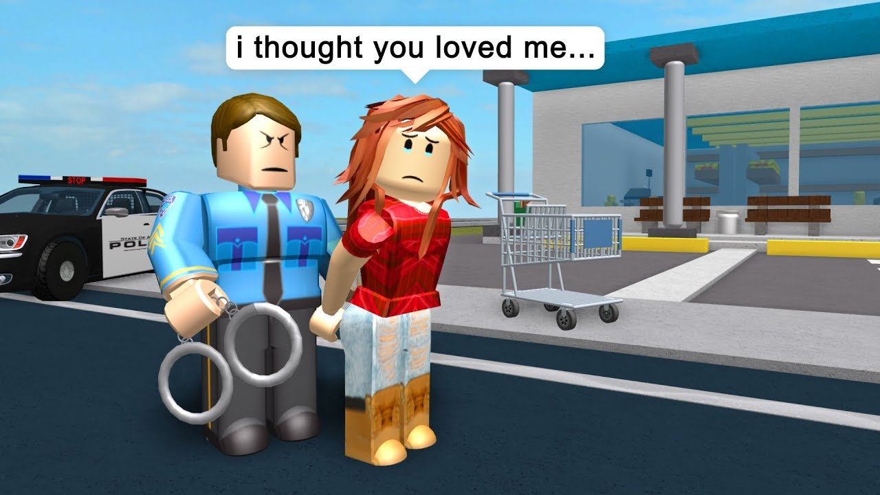 Police Arrests His Own Wife Roblox Jailbreak Roleplay Youtube