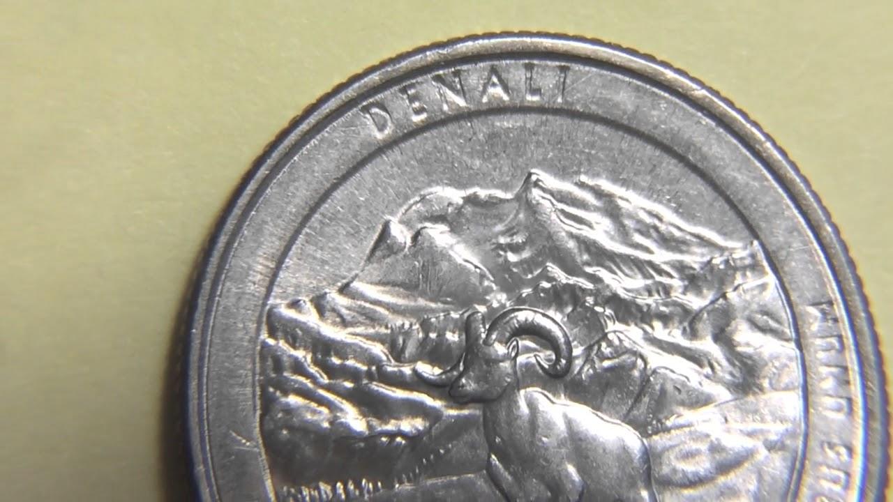 2012 Denali Quarter Error Coin