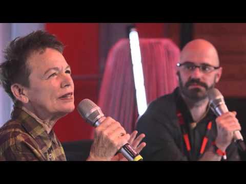 Audi_OOOO_rama Talk: Laurie Anderson