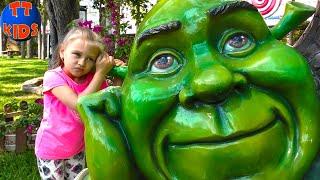 Едем в Парк Игрушек и Детский Музей Игрушек Анталии Развлечения для детей