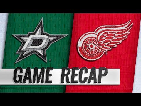 Bernier, Ericsson help Red Wings top Stars, 4-2