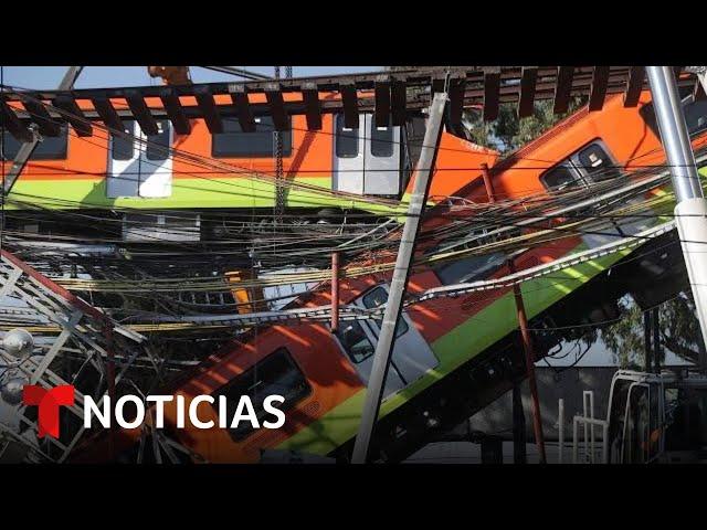 Al menos 24 muertos y cerca de 80 heridos tras el desplome del metro en Ciudad de México