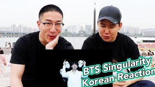 BTS LOVE YOURSELF 轉 Tear 'Singularity' Comeback Trailer KOREAN REACTION + THEORIES