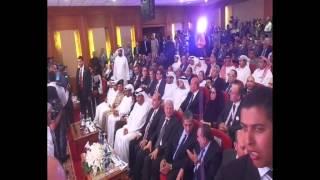 قناة السويس الجديدة :مميش وسلطان الجابر وياسر زغلول يعلنون بدء التكريك بالقناة