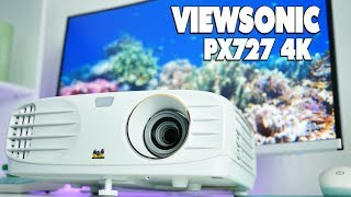 viewSonic PX727-4k UHD Review  Best Home Theater Projector (2018)