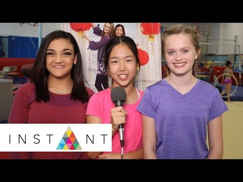 An American Girl Story: Laurie Hernandez, Nina Lu & Hannah Nordberg On The Amazon Original | INSTANT