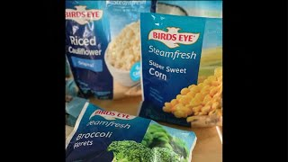 Easy, family-friendly meals and snacks from Birds Eye and KIND