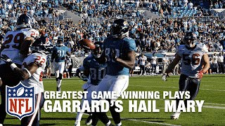 David Garrard's Improbable Game-Winning Hail Mary | Texans vs. Jaguars (2010)