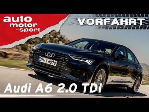 Audi A6 2.0 TDI (2018): Wozu noch A8? - Vorfahrt (Fahrbericht)| auto motor und sport