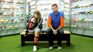 How to properly put on adidas copa and Nike classic socks