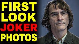 First Look At Joaquin Phoenix In Joker Origin Movie