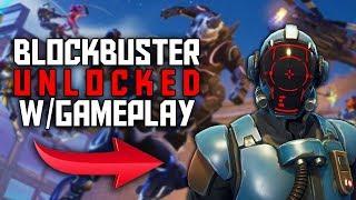 Fortnite 'THE VISITOR' (Blockbuster Skin) caractéristiques personnalisables DéVERROUILLÉ! Premier match avec Visitor!