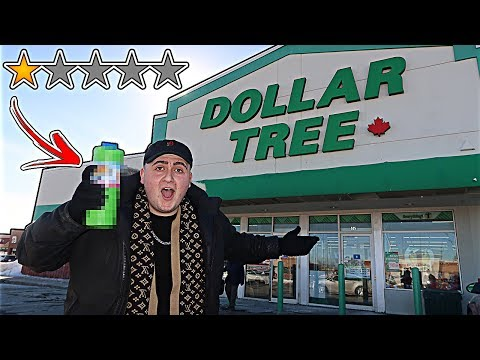 Going to The Worst Reviewed Dollar Store In My City! *DOLLAR STORE SHOPPING SPREE* (1 STAR)