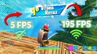 COMO JOGAR FORTNITE SEM LAG +60FPS - Fortnite Battle Royale