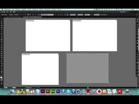 Illustrator cs6: aggiungere e modificare tavole da disegno   PoisDesign tutorial