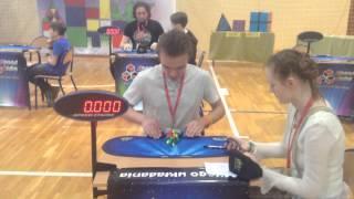 Official Pyraminx Ukrainian NR avarage of 5: 3.26 seconds (former)