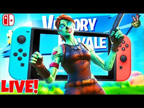 Nintendo Switch Player! // PubStomper Challenge 101! // (Fortnite Battle Royale LIVE)