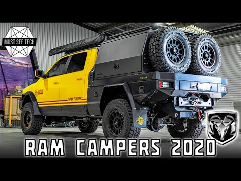 9 Ram Camping Vans and Trucks Taking Advantage of Affordably Versatile Platforms in 2020