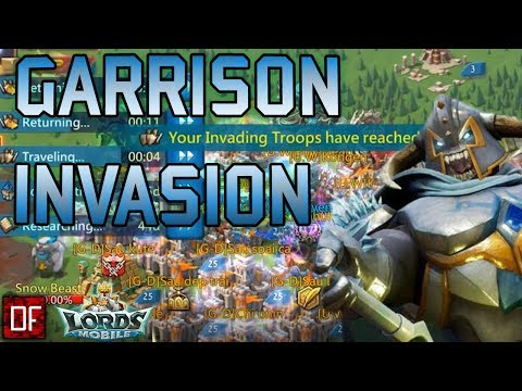 1 SECRET GARRISON ON A MISSION AGAINST 300M+ PLAYERS - Lords Mobile