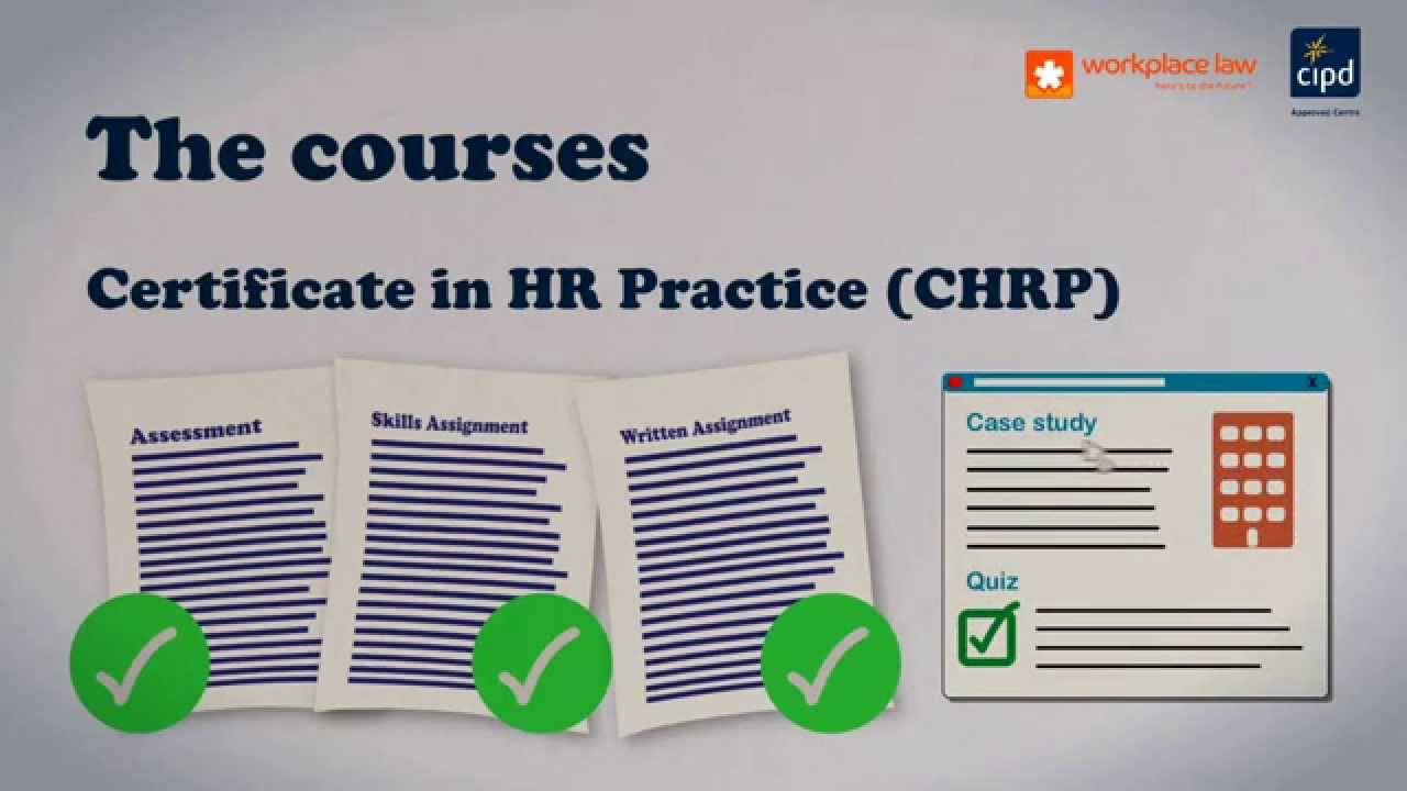 how to get chrp certification