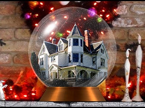 Photoshop Tutorial How To Make A Custom SNOWGLOBE From