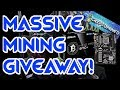 MASSIVE MINER GIVEAWAY CONTEST!!! ASROCK H110 Pro BTC+ CRYPTOMINED + SIMPLEMINING