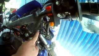 заміна масла в вилці ЗиД-Lifan LF200 GY-5