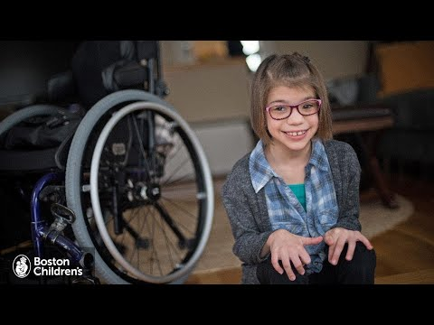 Cerebral Palsy Experience Journal - Stella   Boston Children's Hospital
