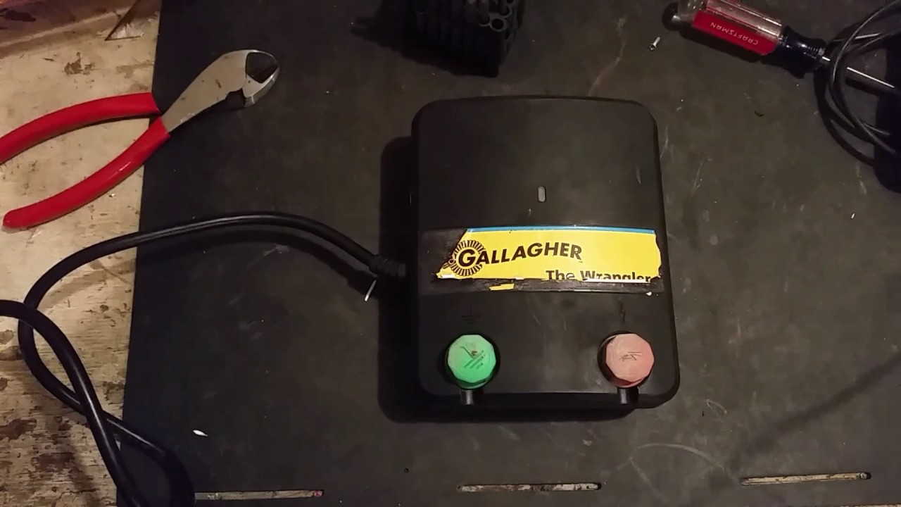 Gallagher Fence Charger Repair Youtube