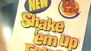 Remembering Discontinued Fast Food Items  Power Blast ketchup McRib shake em' up fries & more