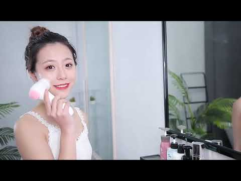 Facial Cleansing Brush, IPX7 Waterproof Rechargeable Face Spin Brush with 3 Brush Heads
