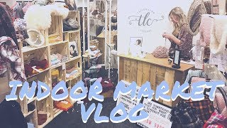 Market Day Vlog - Indoor Craft Market