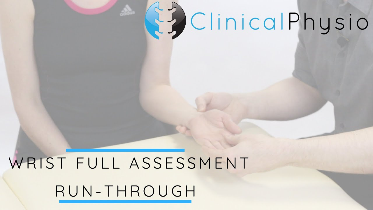 Download Wrist Joint Full Assessment Run Through | Clinical Physio