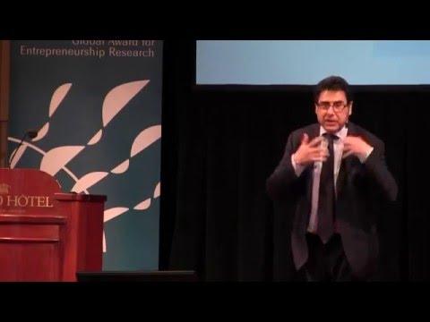 Entrepreneurship Prize Award Lecture 2016