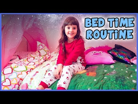 Bed Time Routine di Alyssa e libro Pezzettino