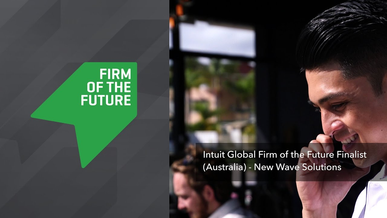 Intuit Global Firm of the Future Finalist (Australia) - New Wave Solutions