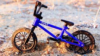 BMX Finger Racing in the Desert | Dirt jumps | Bmx Cult Blue