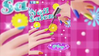 Nail Salon - part1 | Develops creative skills and makeup knowledge for Girls