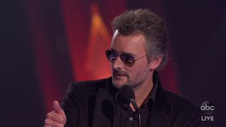 Eric Church Wins Entertainer of the Year - The CMA Awards