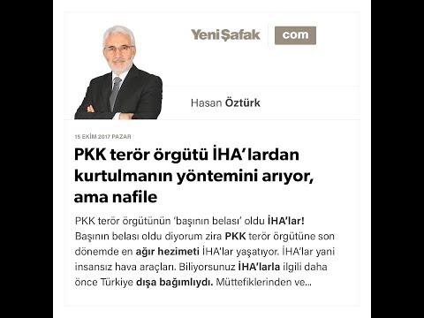 PKK terör örgütü İHA'lardan kurtulmanın yöntemini arıyor, ama nafile - Hasan Öztürk